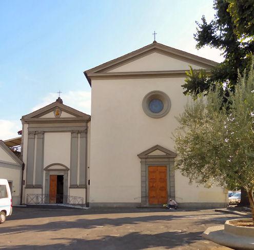 The churches of florence oltrarno - Divo santa maria a monte ...